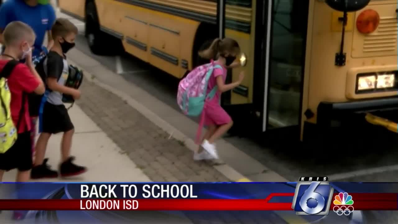 London ISD First Day of School