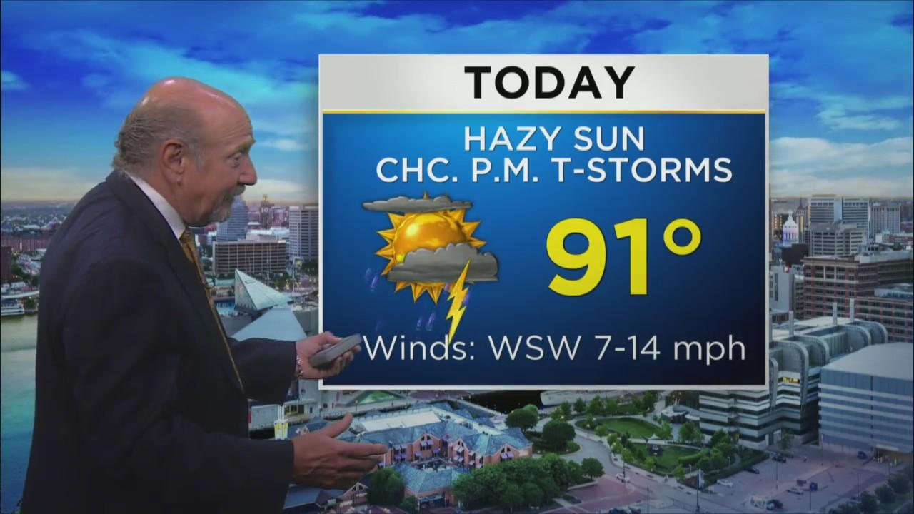Wednesday Morning Weather With Marty Bass