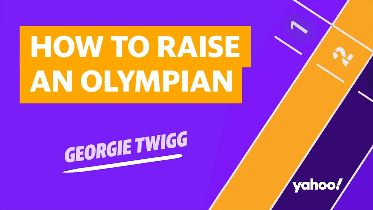 What inspired hockey-player Georgie Twigg to become an Olympic athlete?