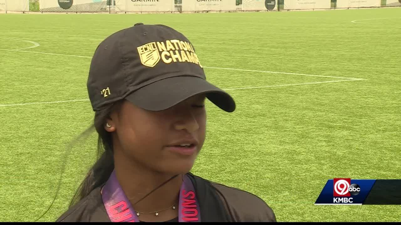 Soccer capitol of the country: Kansas City U15 girls soccer team wins ENCL national championship