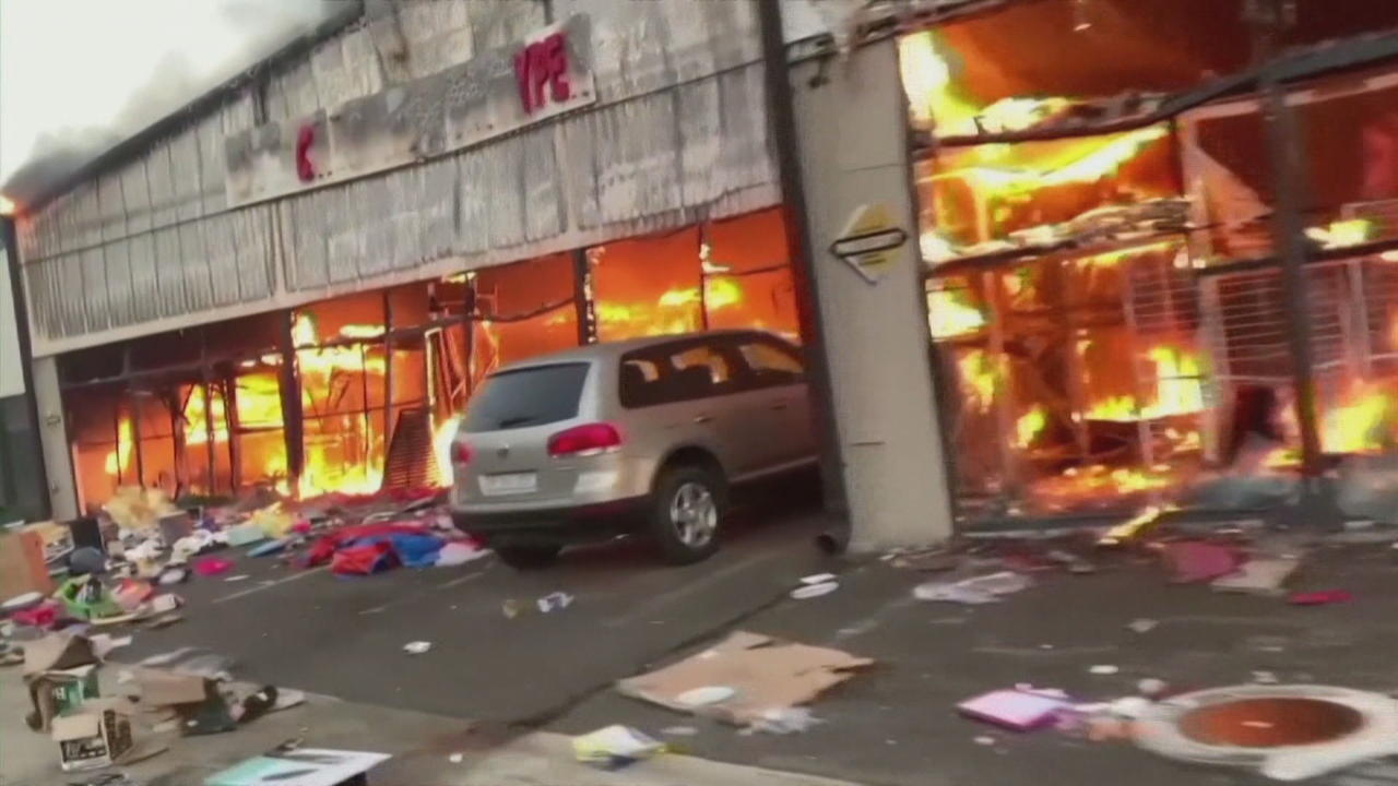 South Africa links 12 suspected instigators to riots