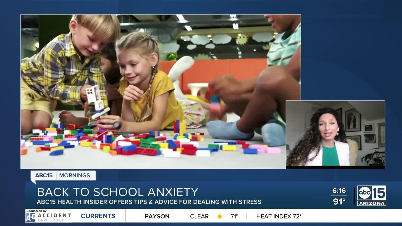 Handling back-to-school anxiety