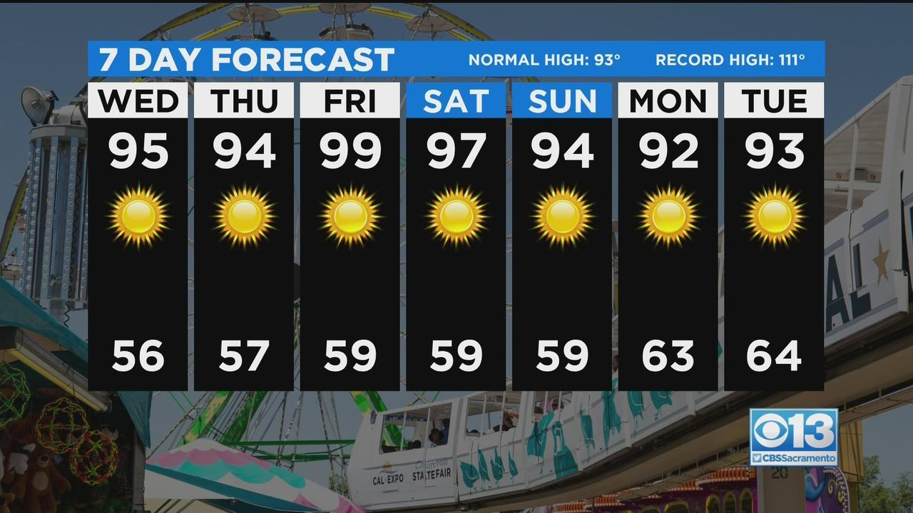 Wednesday Weather Forecast - July 21, 2021