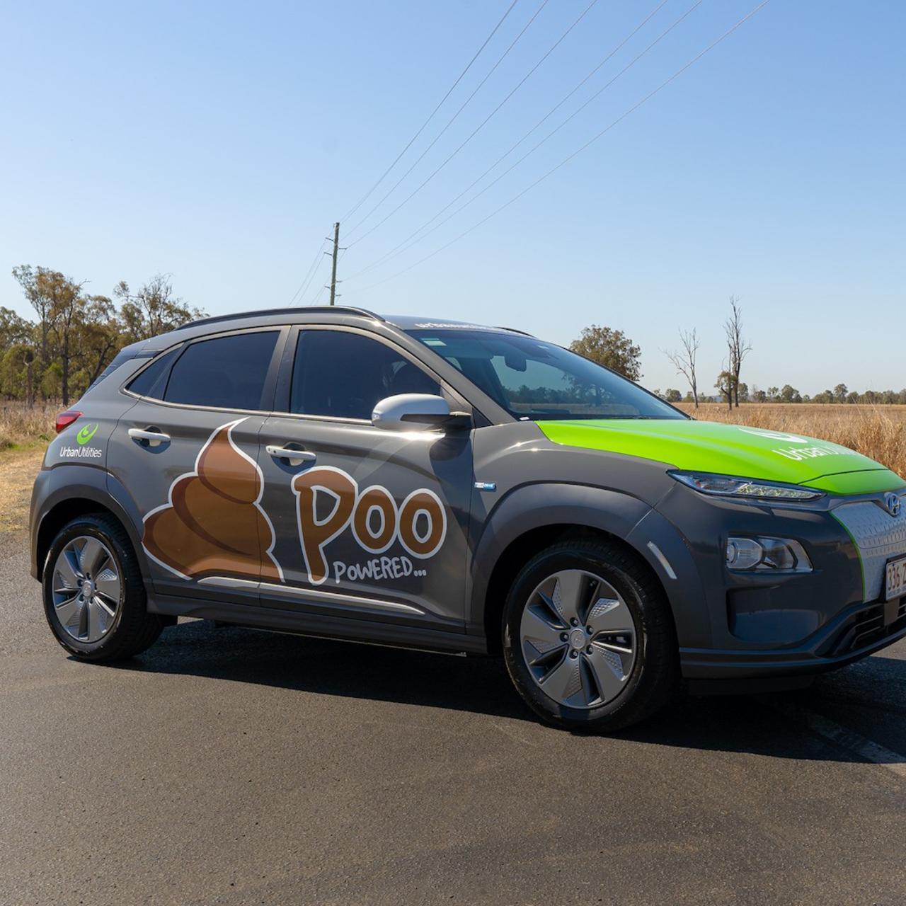 Australia's first Poo powered Car