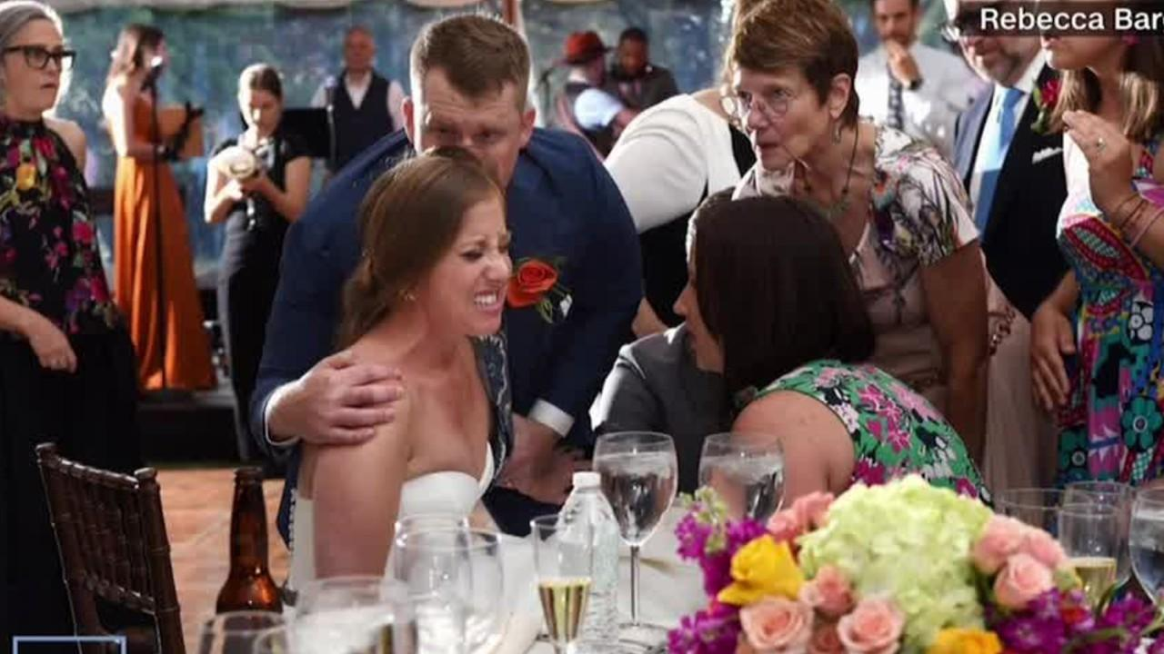 Let's Connect: Bride dislocates knee during first dance