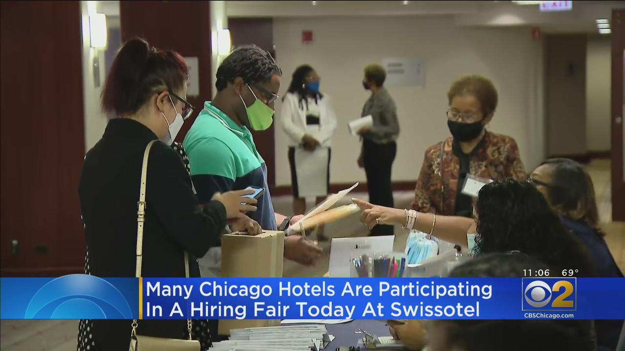 Hiring Event At Swissotel Through Wednesday Afternoon