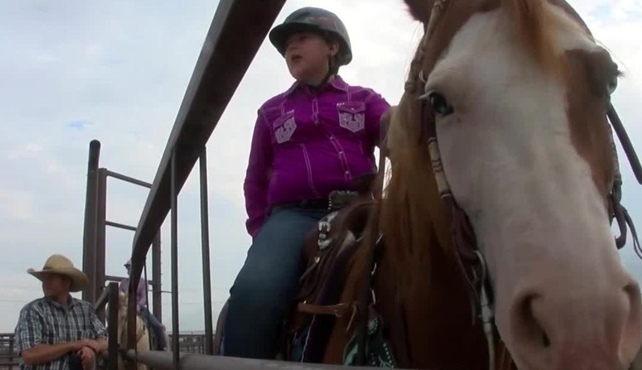 Gallatin County 4-H Horse Project 'breaks in' the fairgrounds prior to Big Sky Country State Fair