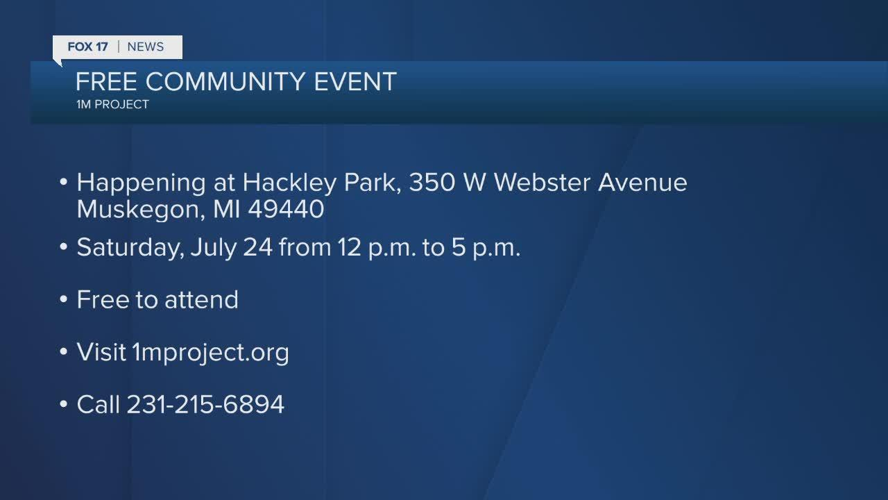 Free community event in Muskegon