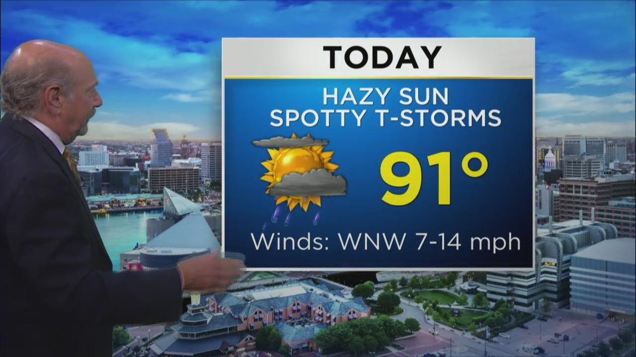 Marty Bass Has Your Wednesday Afternoon Forecast
