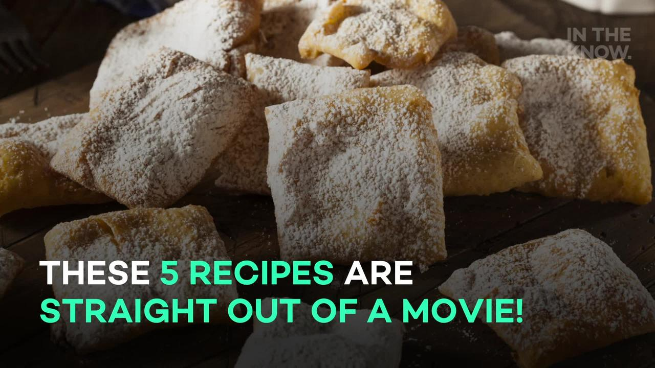5 recipes inspired by movies