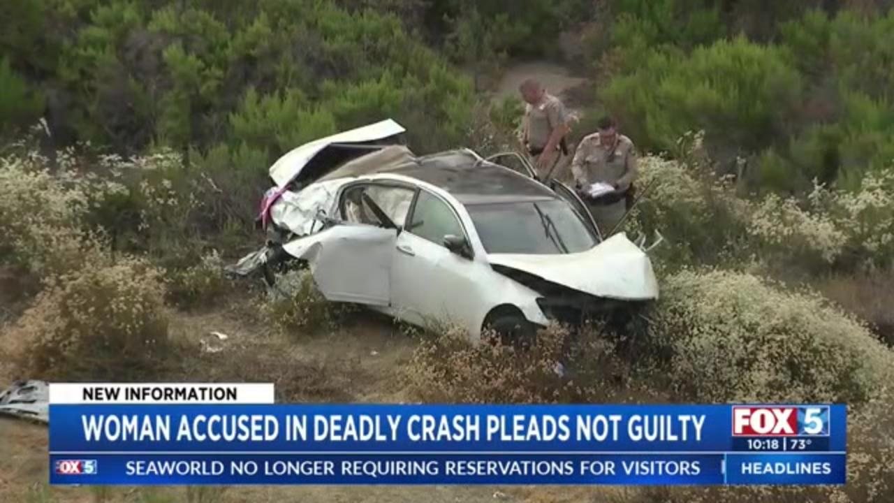 California woman pleads not guilty to DUI crash that killed 5-year-old daughter