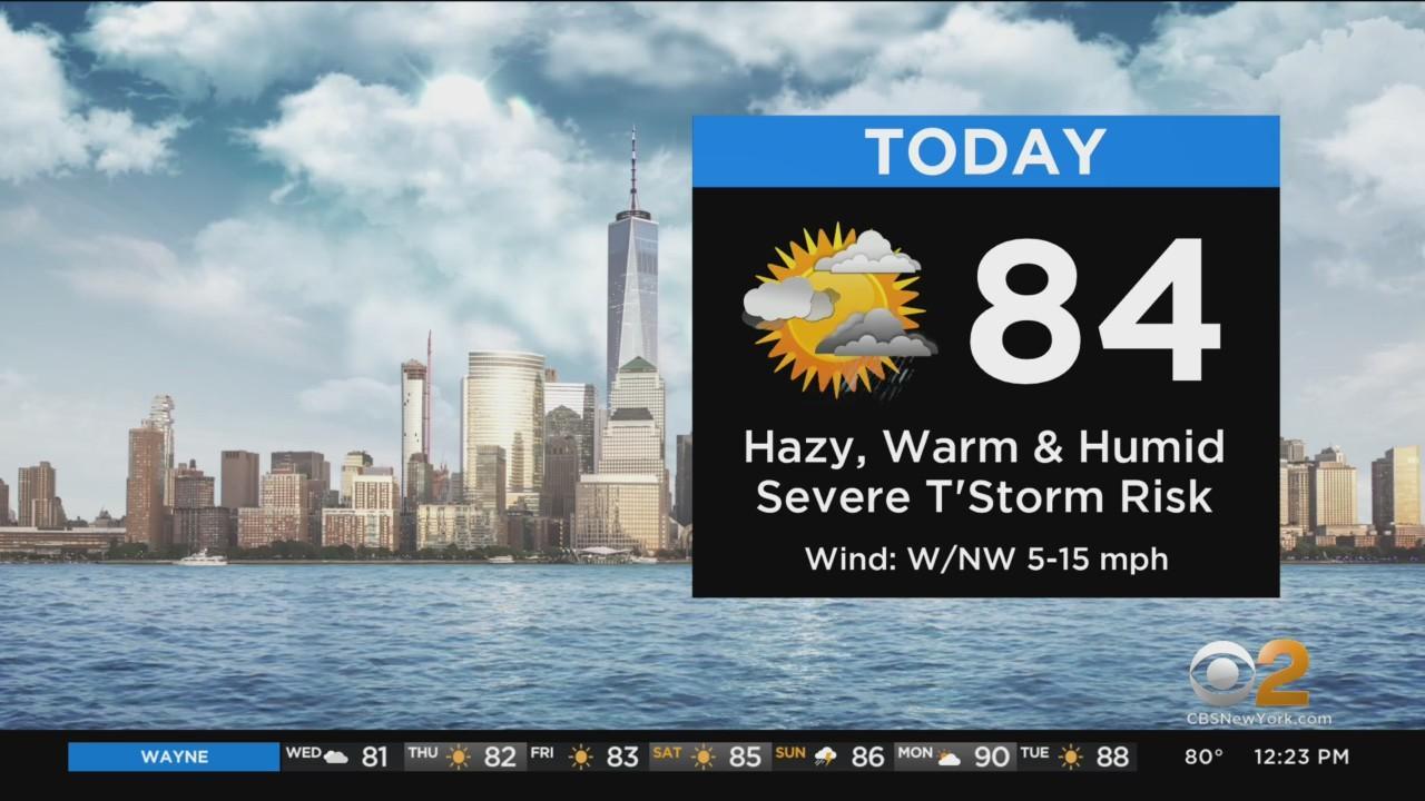 New York Weather: Severe Thunderstorm Warning