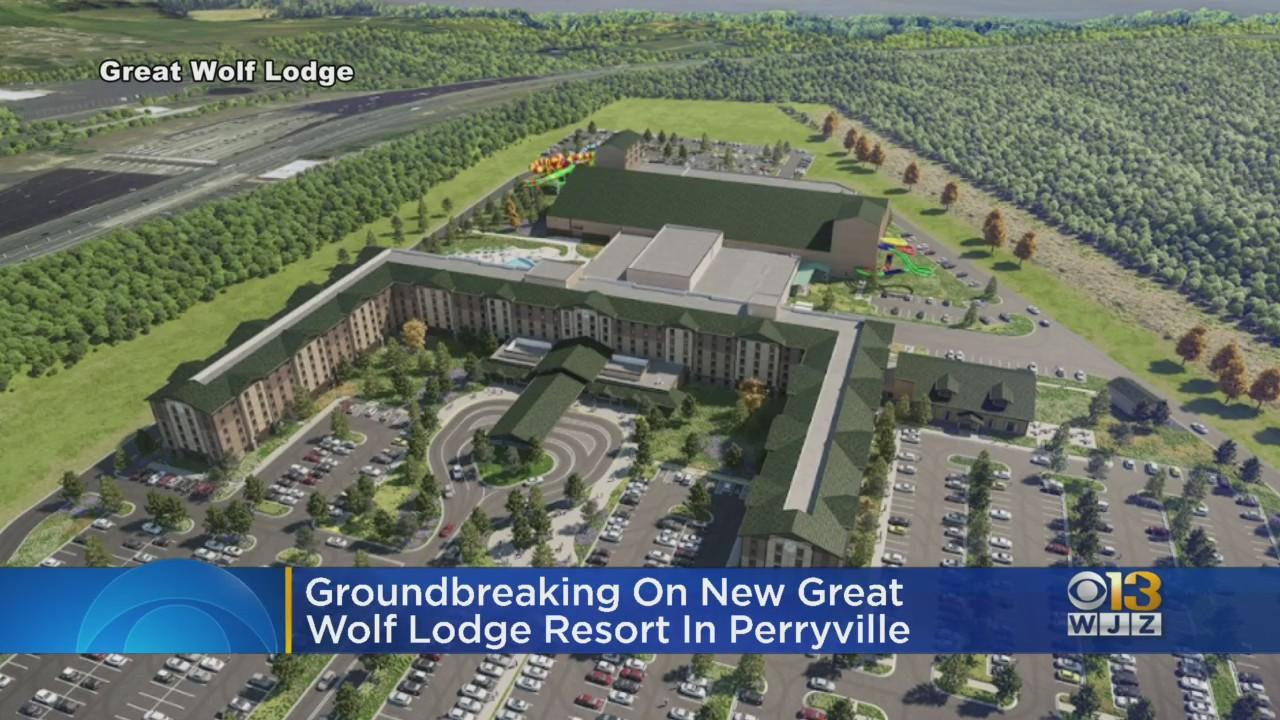 Great Wolf Resorts Inc. Breaks Ground On Indoor Water Park In Perryville