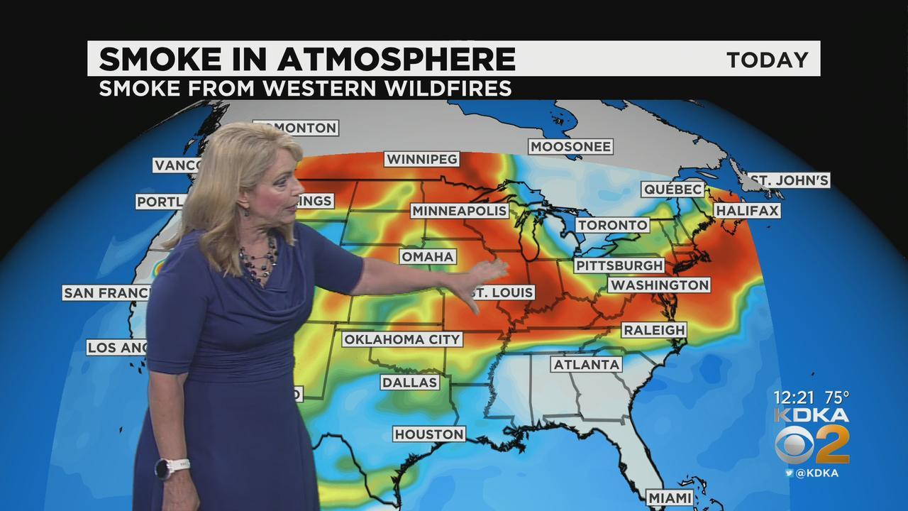 KDKA-TV Afternoon Forecast (7/21)