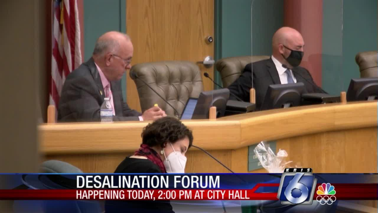 Council will conduct desalination forum later today