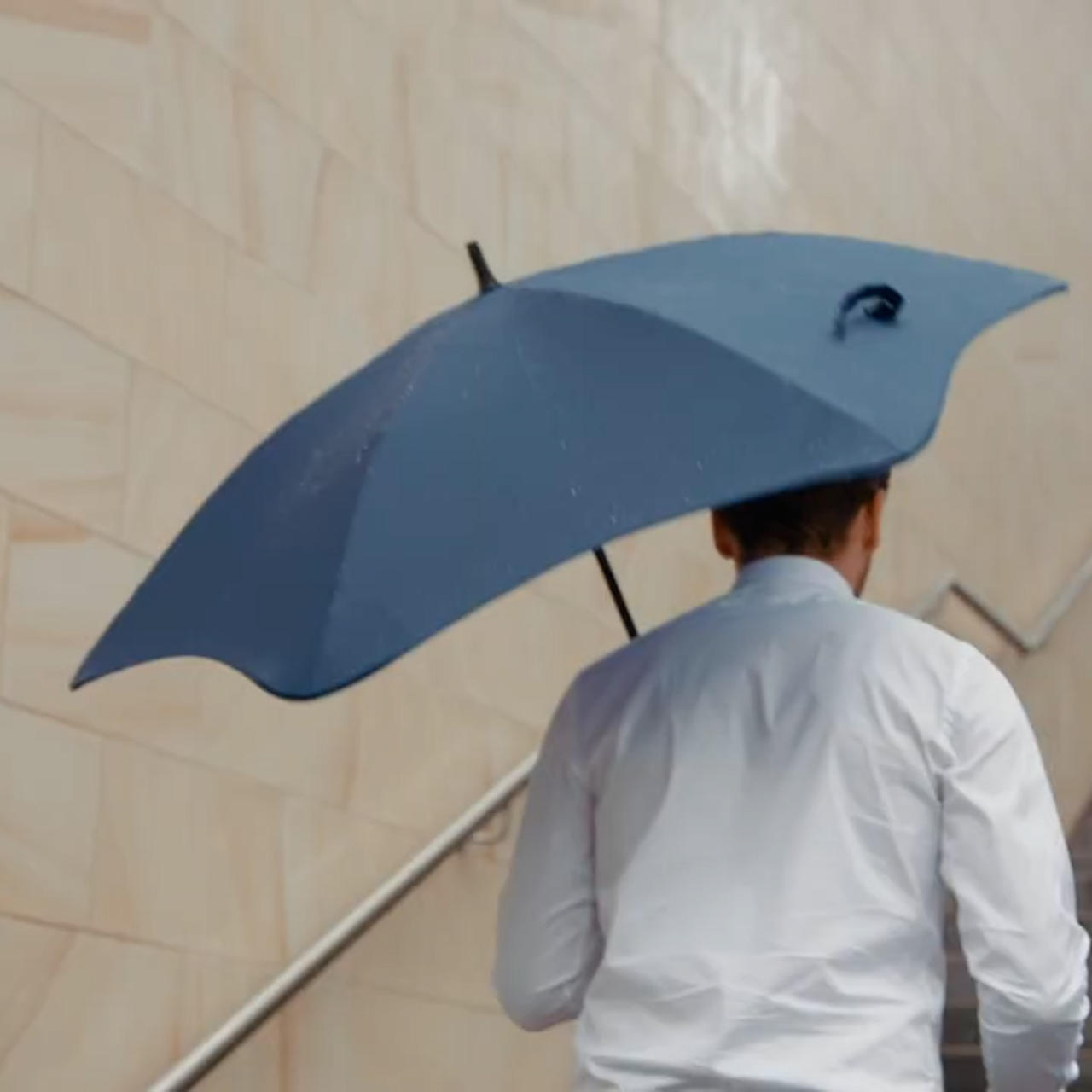 Keep this stylish and durable umbrella with you at all times