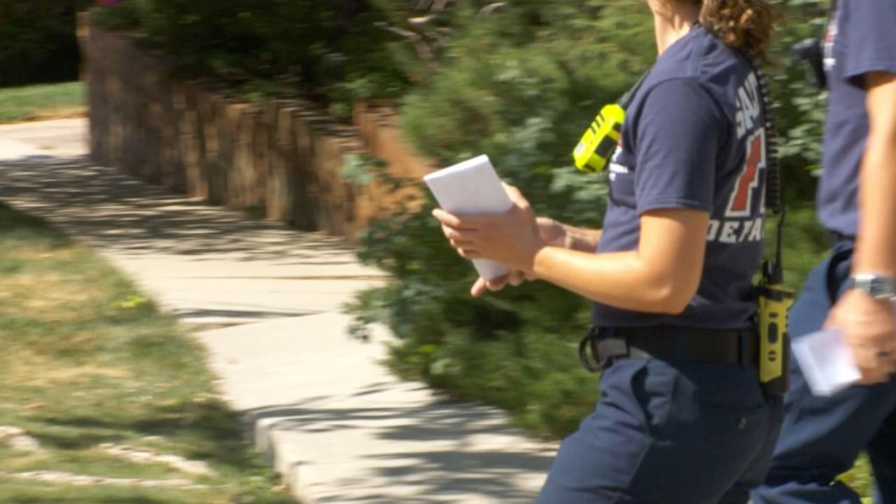 SLC firefighters hit streets to remind residents of fireworks ban