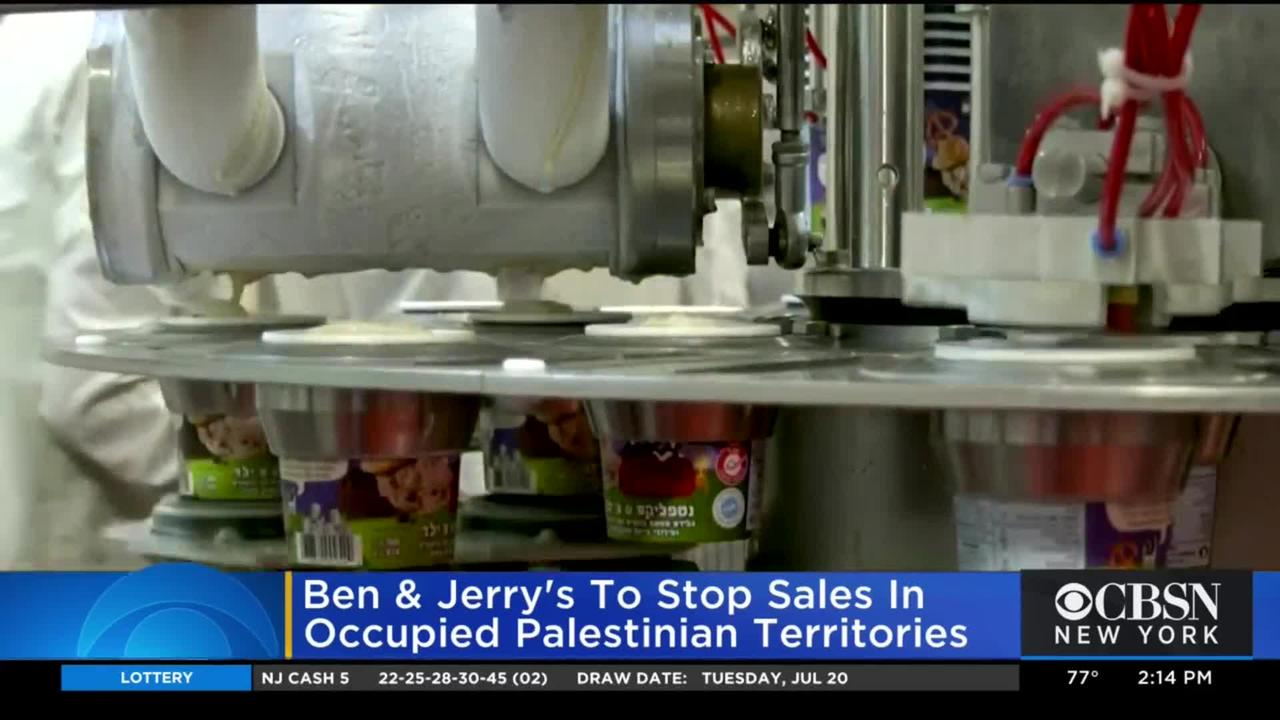 Pushback After Ben & Jerry's Announces Plans To Stop Selling Ice Cream In Occupied Palestinian Territories