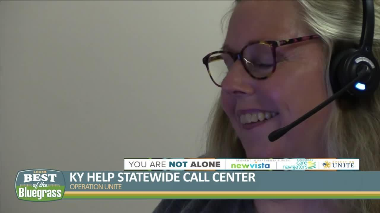 KY Help Statewide Call Center can help with addiction