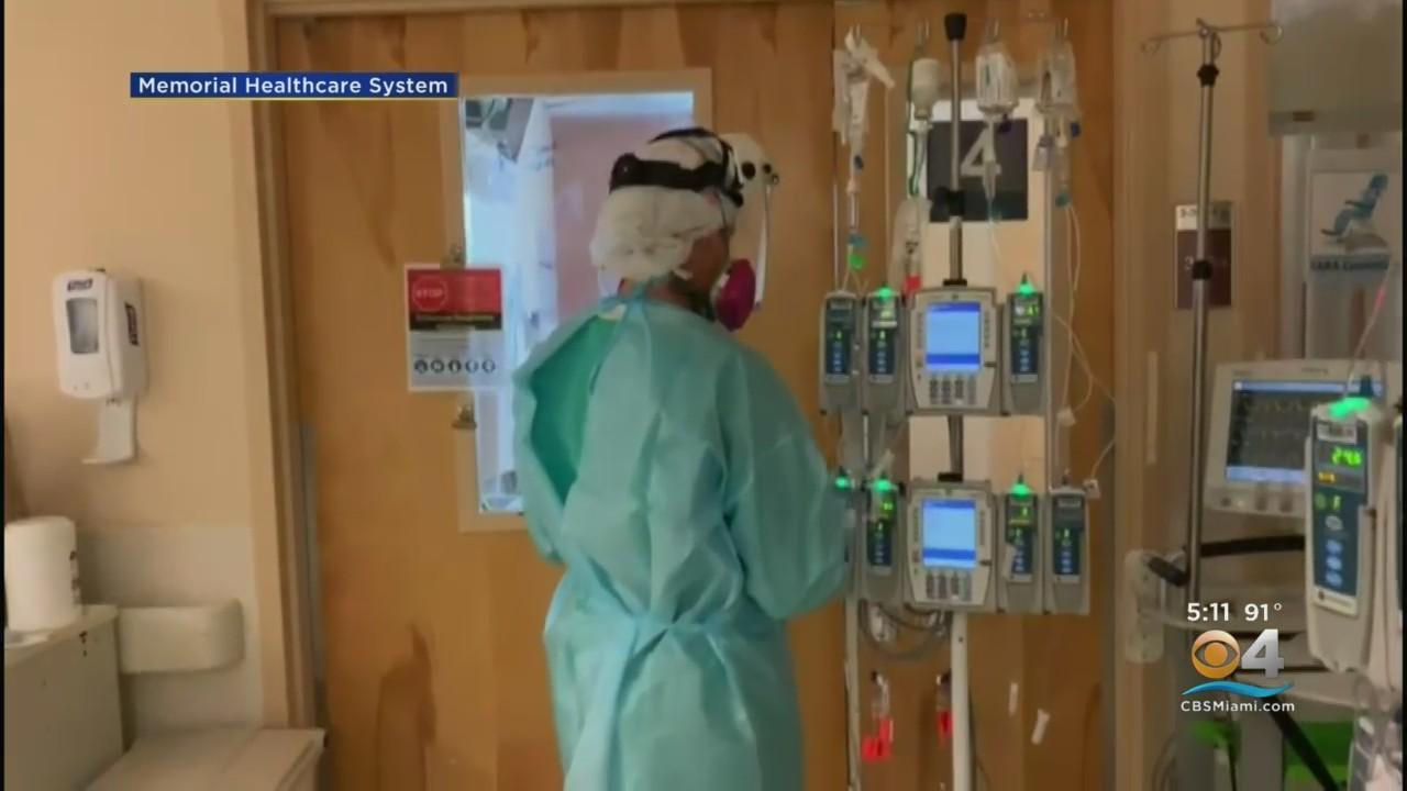 South Florida Nurses Stressed Over Recent COVID Surge