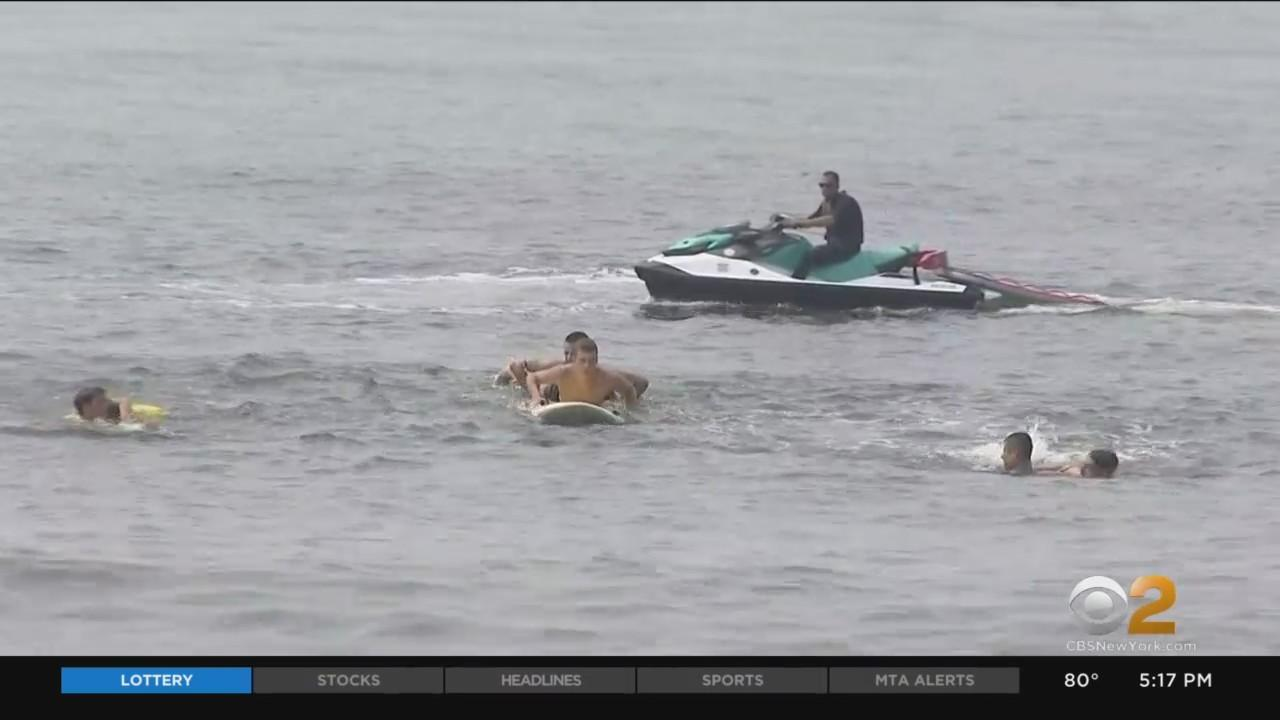 Lifeguards, Officials On Long Island Issue Warning About Rip Currents