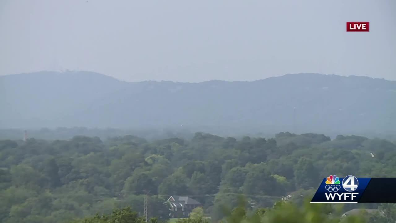 Massive wildfires in West bring haze to Upstate