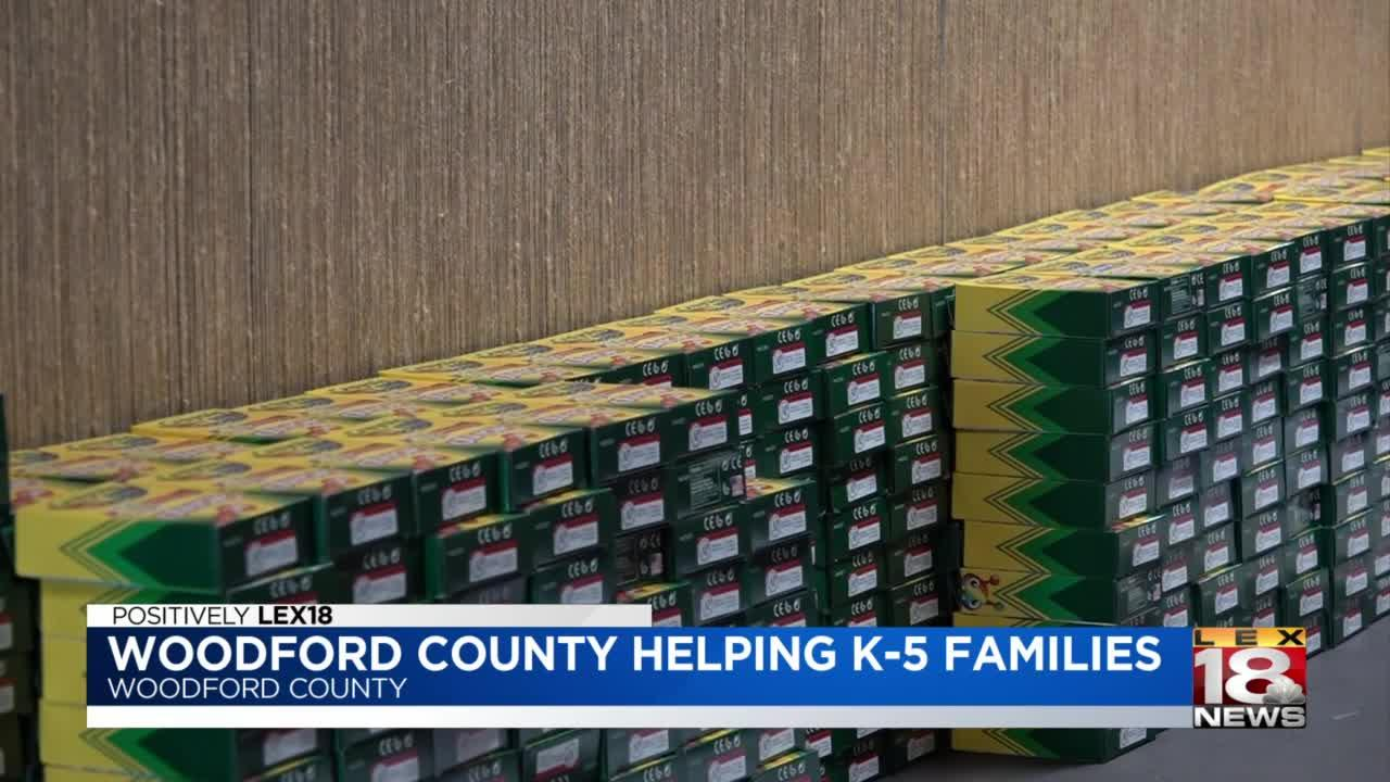 Woodford County helping K-5 families