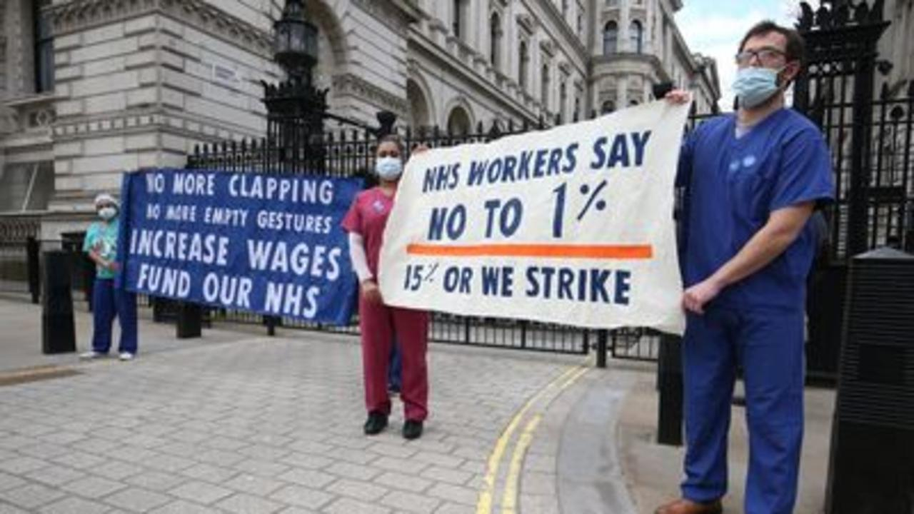 Unions unimpressed by 3% NHS offer