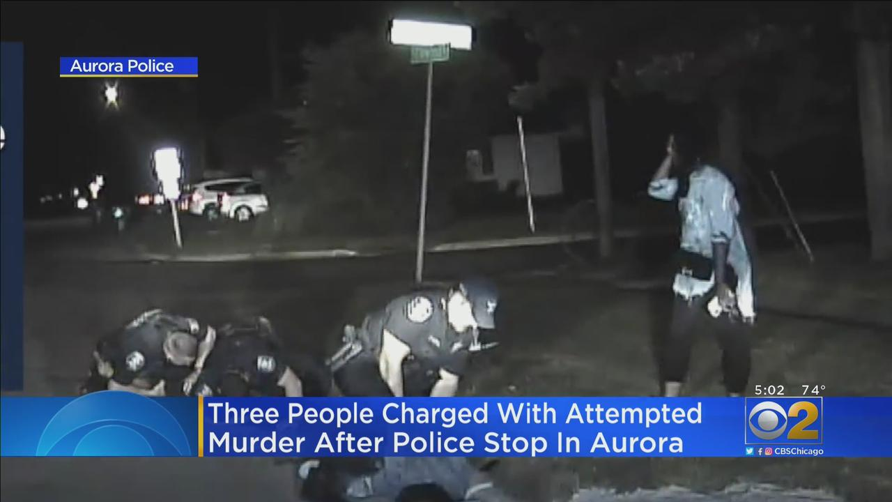 Dashcam Video Shows Traffic Stop In Aurora Showing Officer Was Attacked; Suspects Now Charged With Attempted Murder