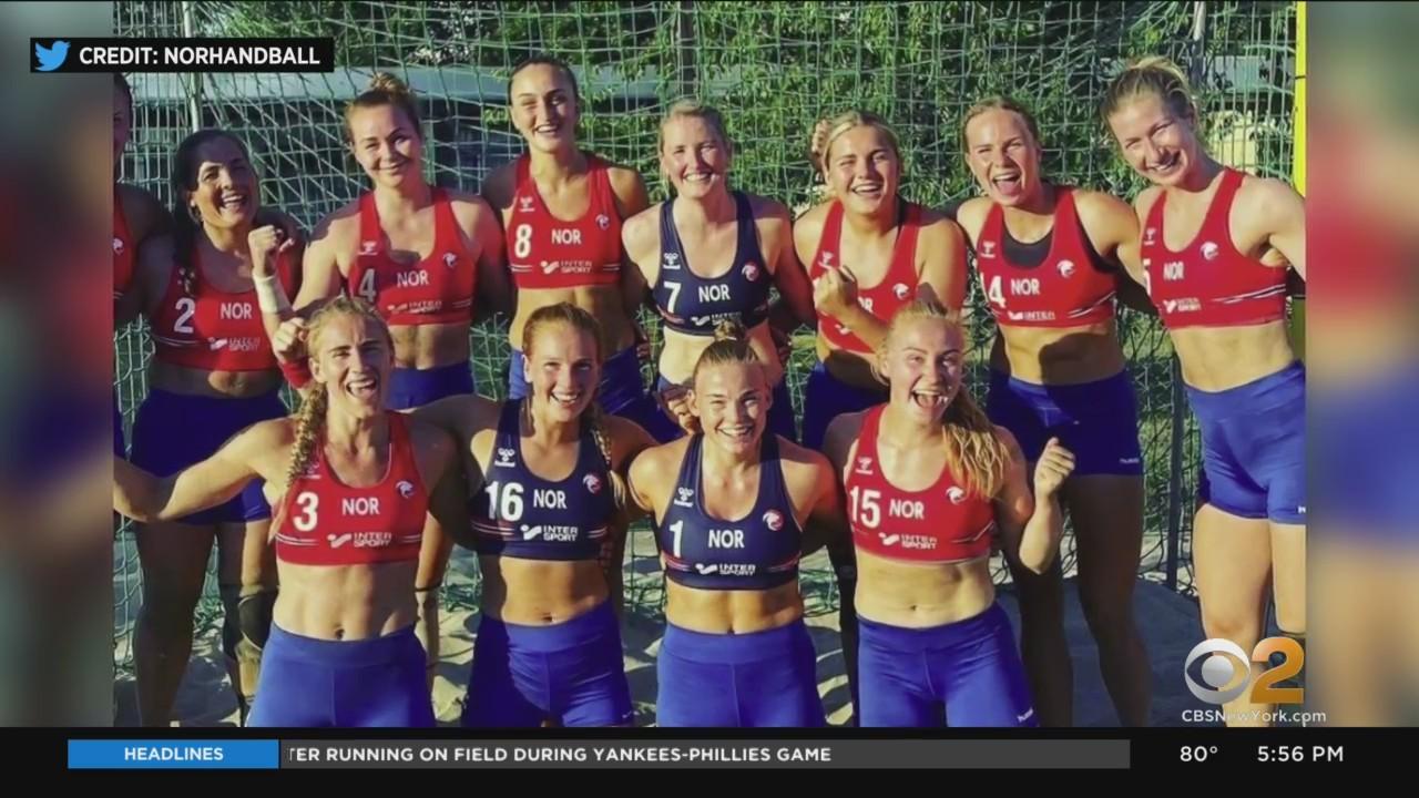 Norwegian Women's Beach Handball Team Fined For Refusing To Wear Bikini Uniforms