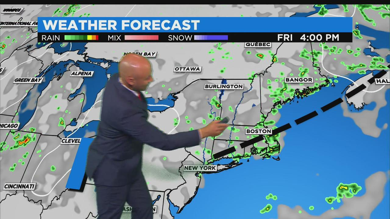 WBZ Mid-Afternoon Forecast For  WBZ Evening Forecast For July 21, 2021