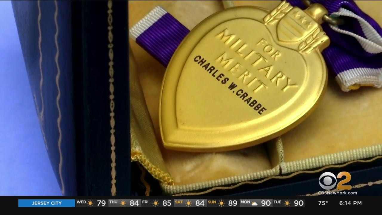 Woman Searching For Family Of Purple Heart Recipient