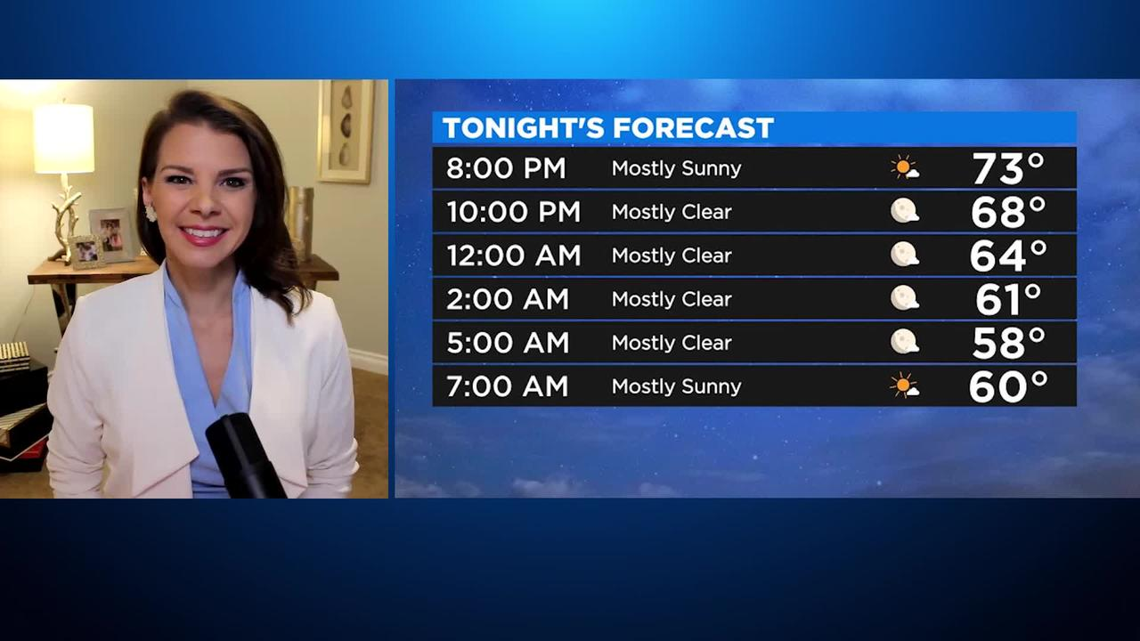 First Forecast Weather July 21, 2021 (Tonight)