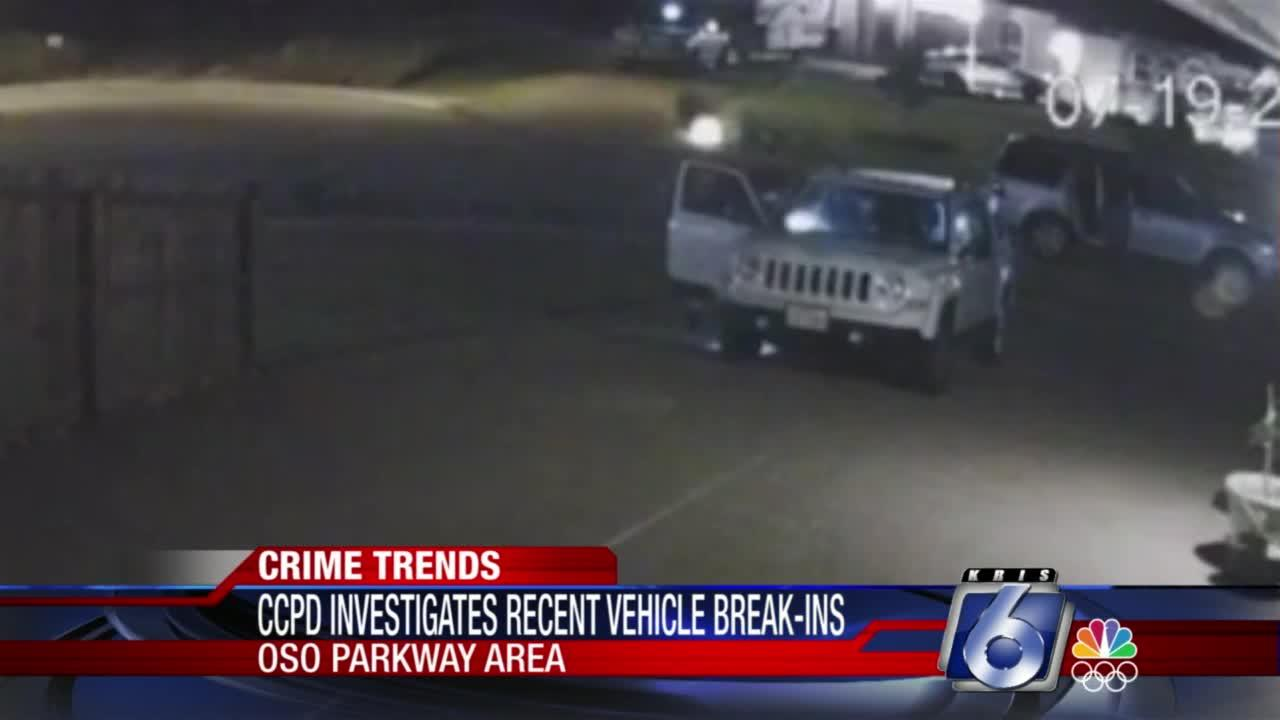 Car burglaries happening up and down South Oso Parkway