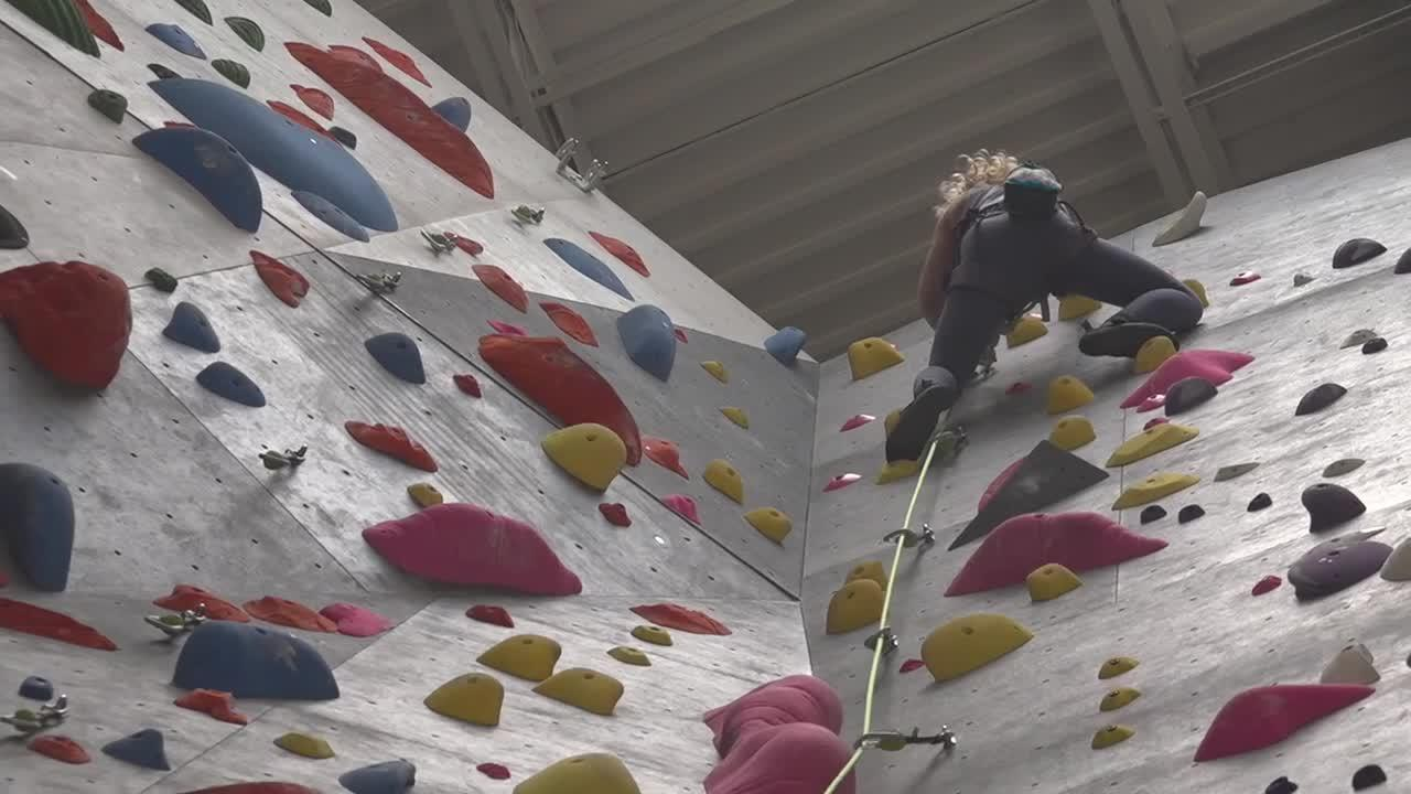 Sport climbing debuts at the Olympics providing excitement for local rock climbers