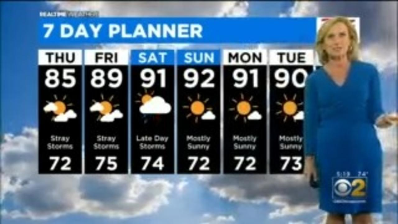 Chicago Weather: Stray Storms For The Next Few Days