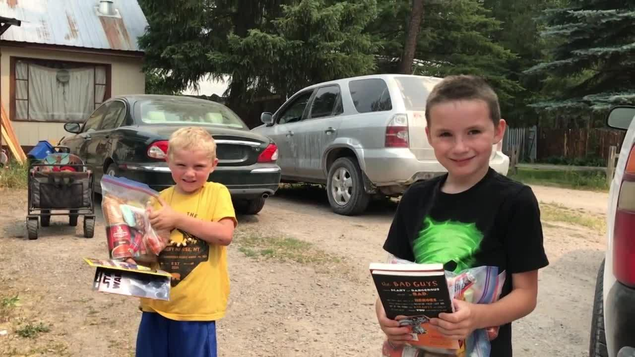 Columbia Falls Bookmobile delivers free books to kids living in remote areas