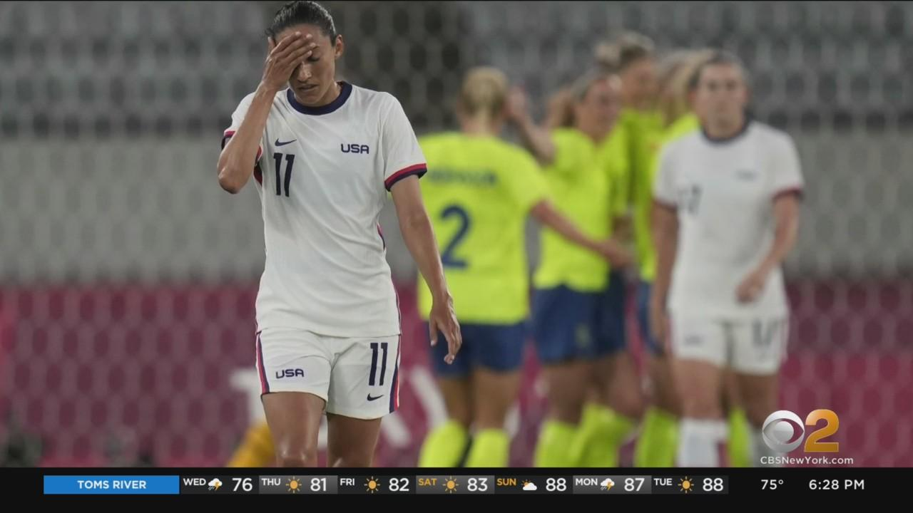 USWNT's 44-Match Unbeaten Run Ends In 3-0 Loss To Sweden