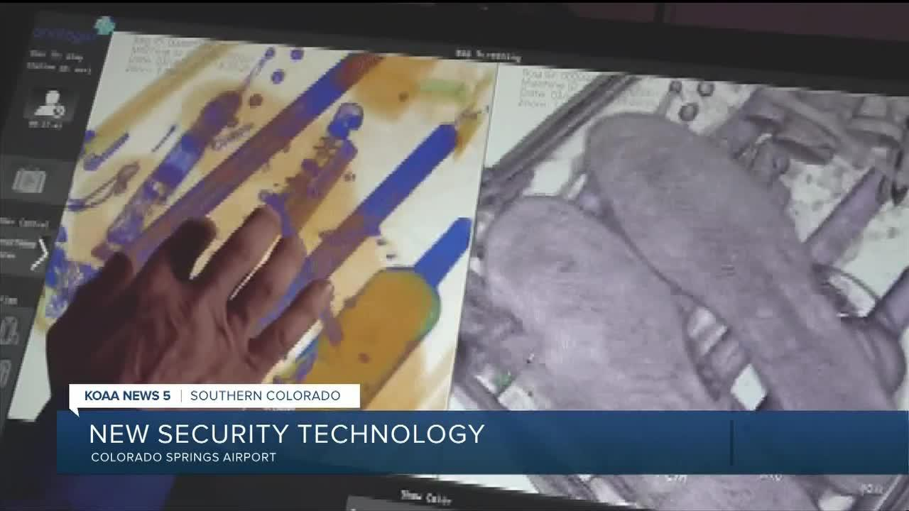 Springs Airport using new security technology