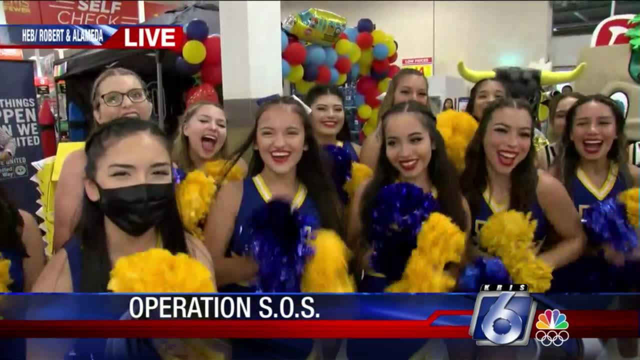 Operation S.O.S at HEB on Alameda and Roberts