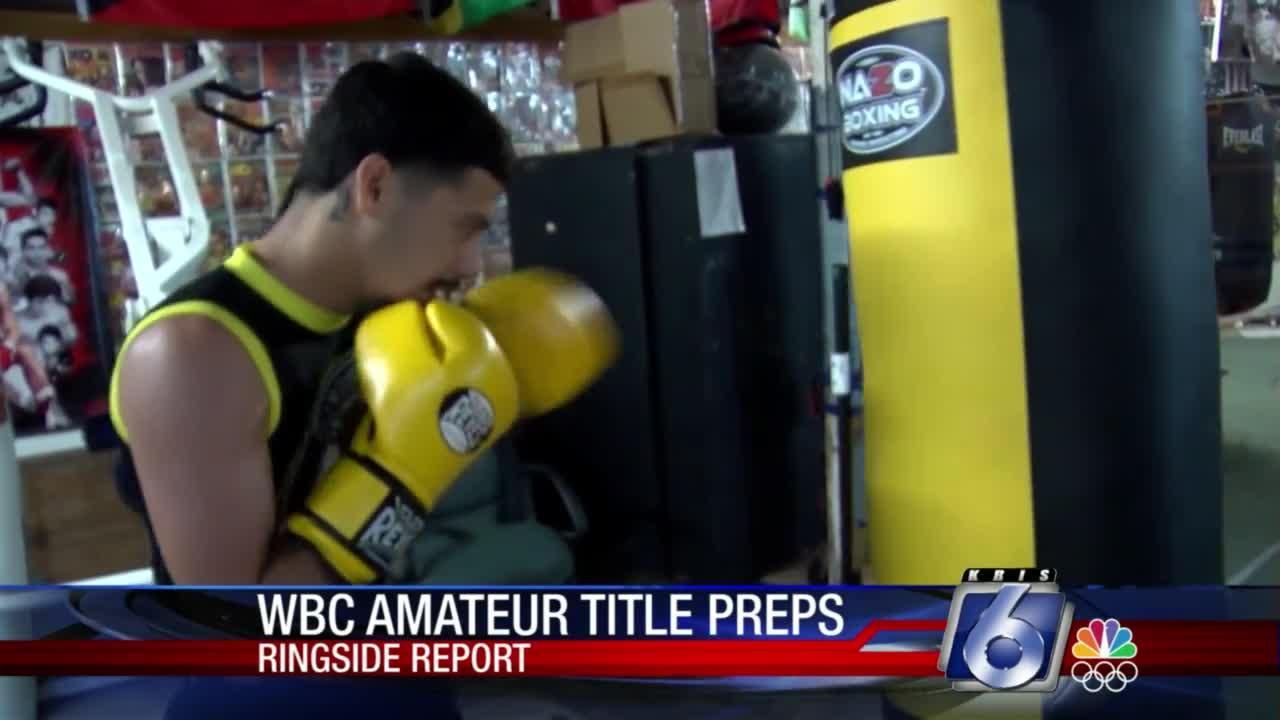 WBC amateur title preparations