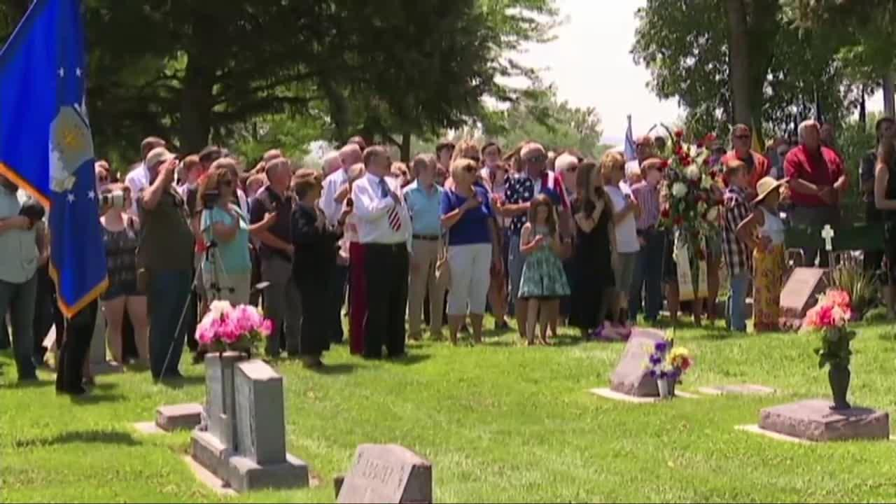 Wyoming airman missing in action in Vietnam War laid to rest at home