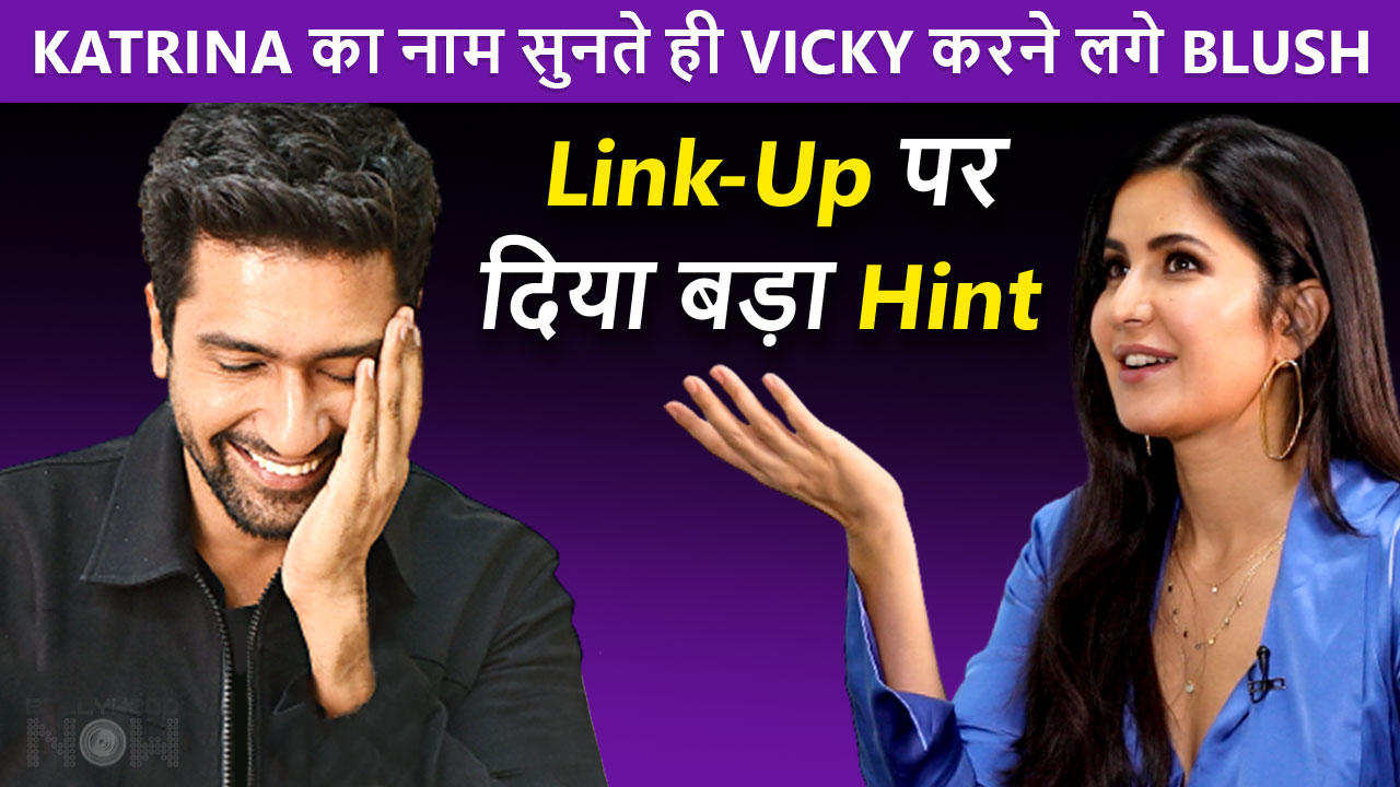 OMG! Vicky Kaushal BLUSHES When Asked About Link-Up With Katrina, Gives A Major Hint To Fans