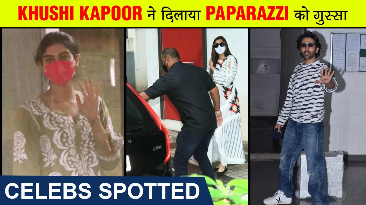 Khushi Irritates Photographers, Sonam Visits A Clinic, Kartik Greets Media, Nora Avoids Taking A Car