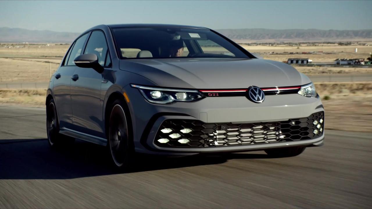 2022 Volkswagen Golf GTI Driving Video