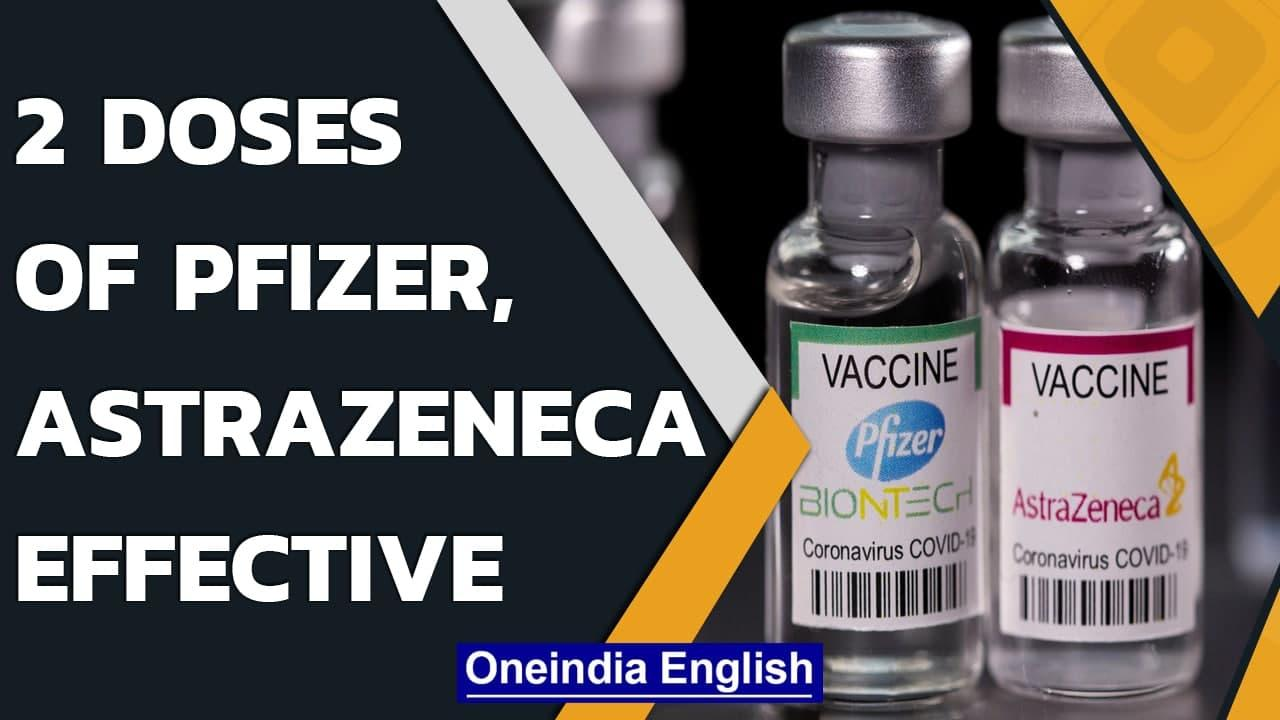 Pfizer, AstraZeneca full course is effective against Delta variant: Study | Oneindia News