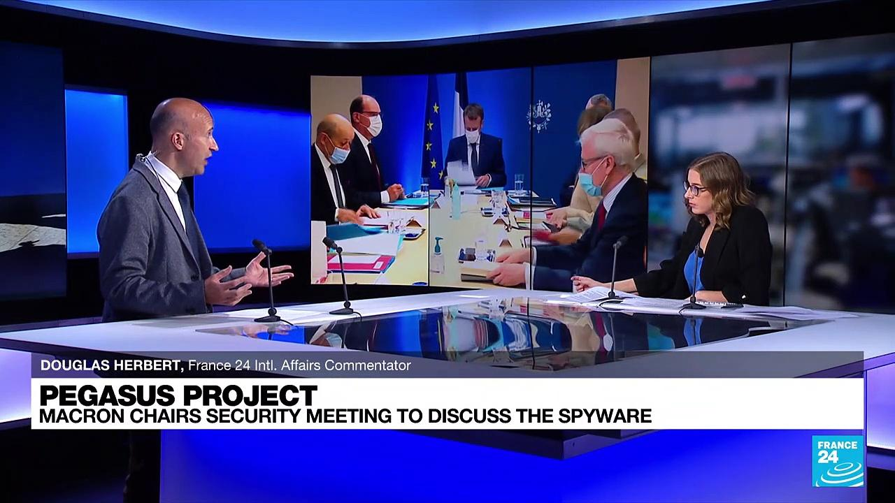 Pegasus project: Macron chairs emergency meeting on spyware