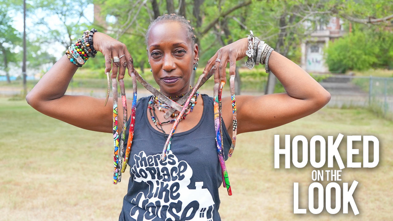 I've Been Growing My 12 Inch Nails For 30 Years | HOOKED ON THE LOOK