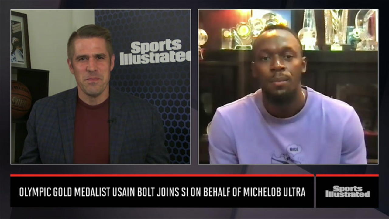 Usain Bolt Talks Olympics, Packers and Aaron Rodgers