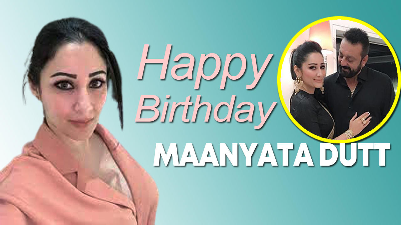 Sanjay Dutt wishes wife Maanyata on her birthday with adorable post